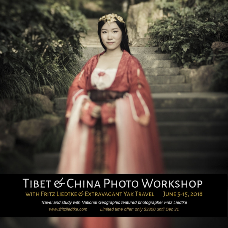 Photo tour in Tibet and Chine