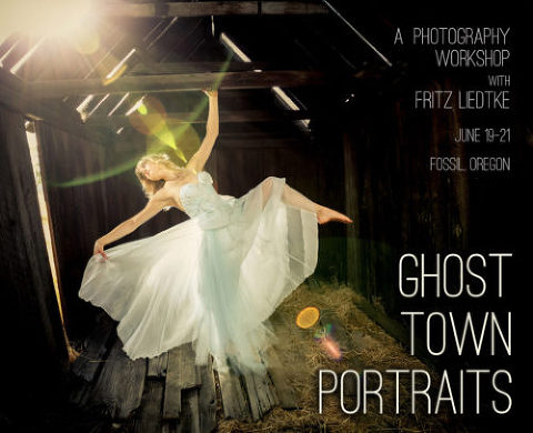 Ghost Town Portraits Workshop Photo